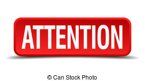 Attention Illustrations And Clip Art  34641 Attention Royalty Free
