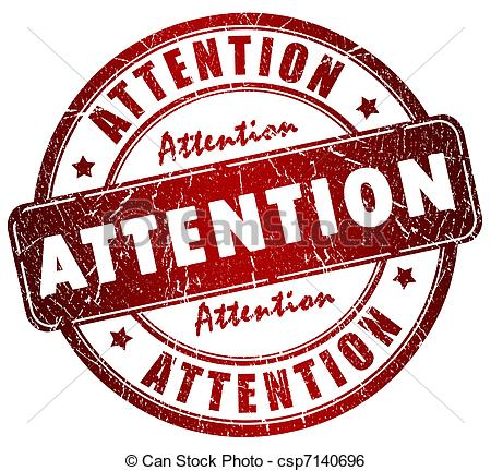 Attention Stamp   Attention Grunge Stamp Csp7140696   Search Clip Art