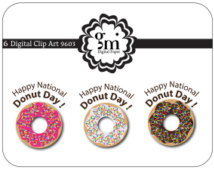 Clipart Donut Doughnut Day Donut Day Happy National Donut Day