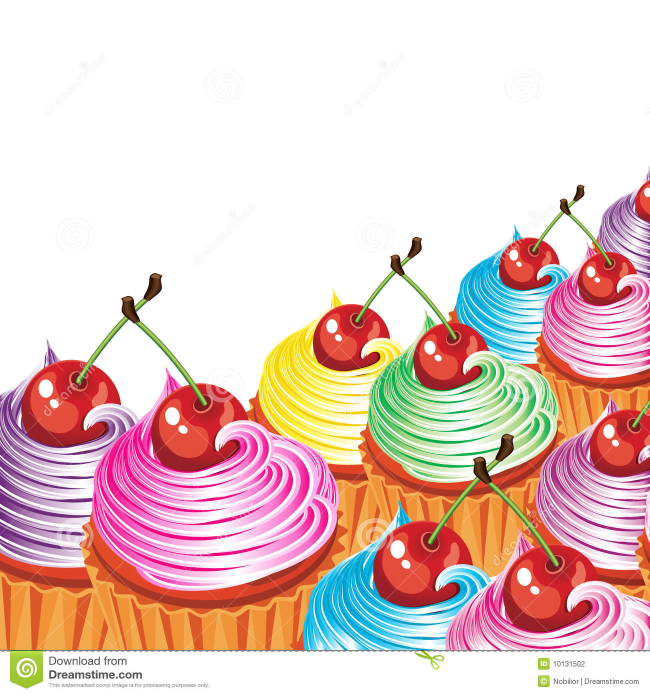 Cake And Art Cupcakes : Cupcake Border Clipart - Clipart Suggest