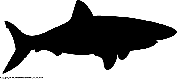 Home Free Clipart Silhouette Clipart Silhouette Shark