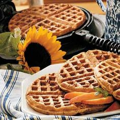 March 11th  Happy Oatmeal Nut Waffle Day   No I Did Not Make That Up