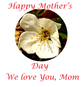 Mothers Day Clip Art   Happy Mothers Day  Or Mothering Sonday
