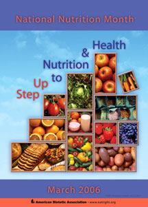 National Nutrition Month  2006