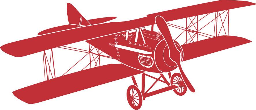 Vintage Airplane Clipart - Clipart Kid