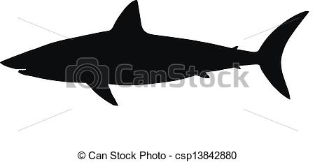 Vector Of Vector Silhouette Of Shark   Hq Vector Silhouette Of Shark