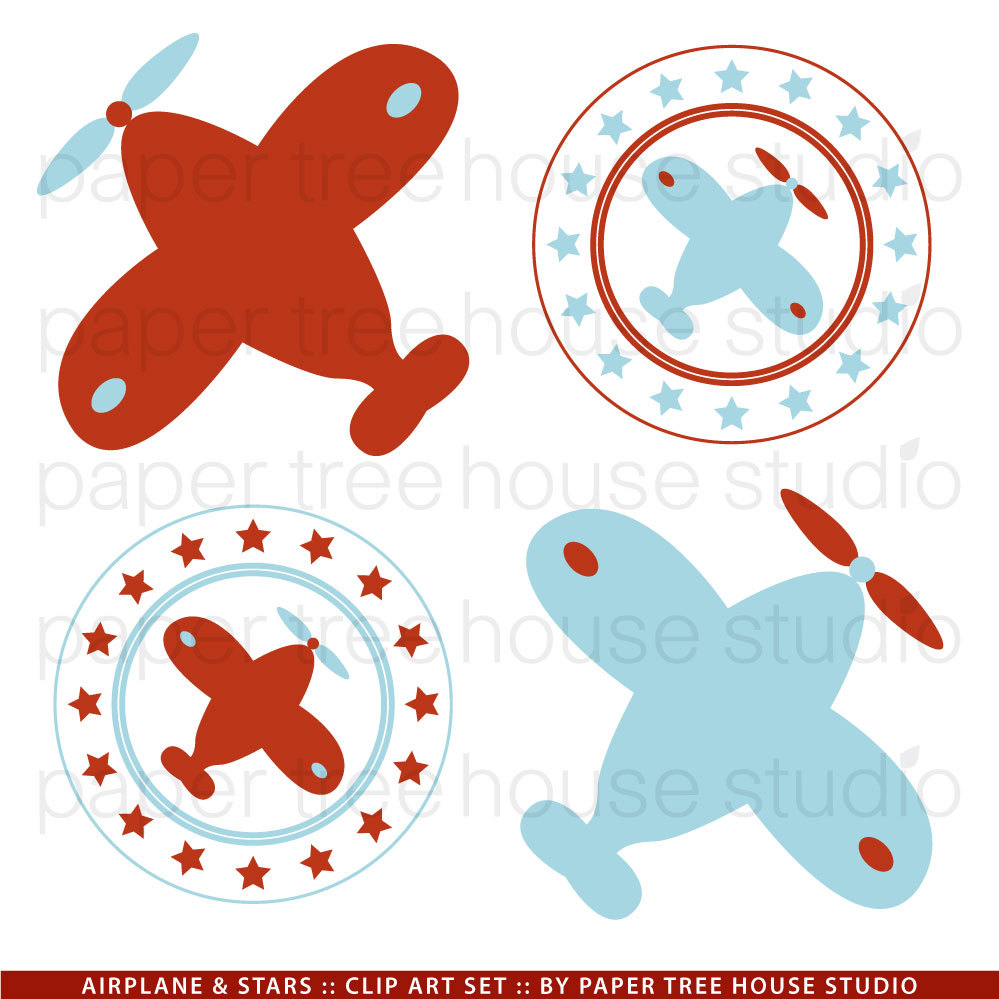 Vintage Airplane Clipart - Clipart Suggest