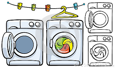 Dryer Maintenance Clip Art