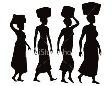 Woman Clip Art Chippy Ideas Woman Silhouettes Afro Silhouettes