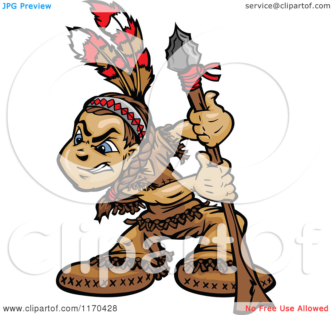Native American Spear Clipart - Clipart Kid
