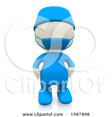Clipart 3d Doctor Holding A Giant Pill   Royalty Free Cgi Illustration