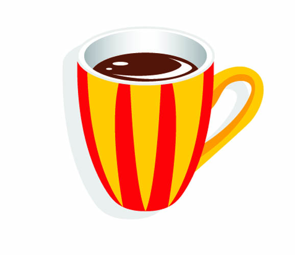 Yellow Coffee Cup Clipart - Clipart Suggest