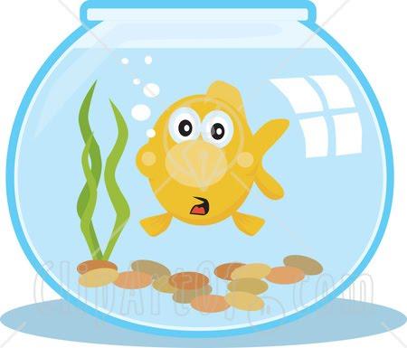 Goldfish Bowl Clipart