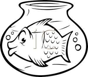 Goldfish Bowl Clipart - Clipart Suggest