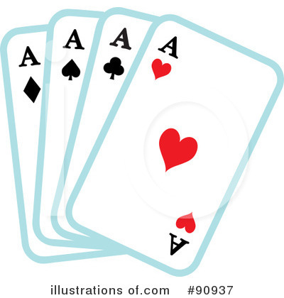 Playing Cards Clipart  90937 By Rosie Piter   Royalty Free  Rf  Stock