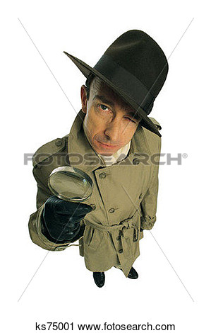 Stock Photography Of Funny Bones Too Business Characters Detective