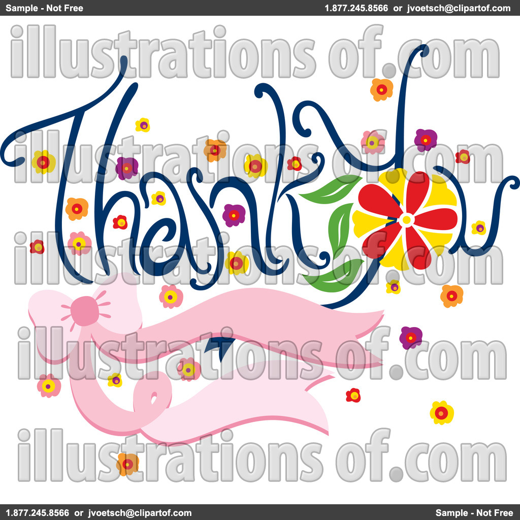 Thank You Kids Clipart Royalty Free Rf Thank You Clipart Illustration