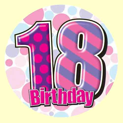 Happy 18 Birthday Clipart - Clipart Kid
