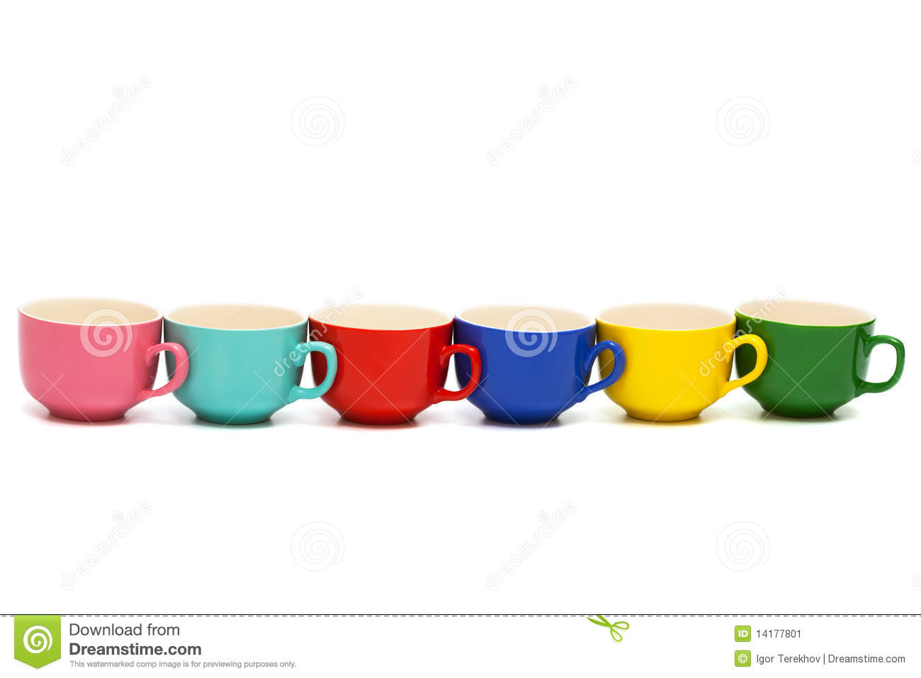 Beautiful Cups Stock Image   Image  14177801