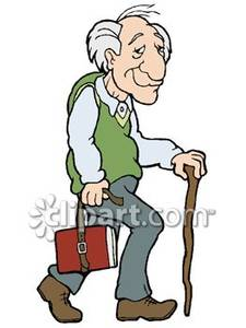 Cartoon Walking Stick Clipart Graphic