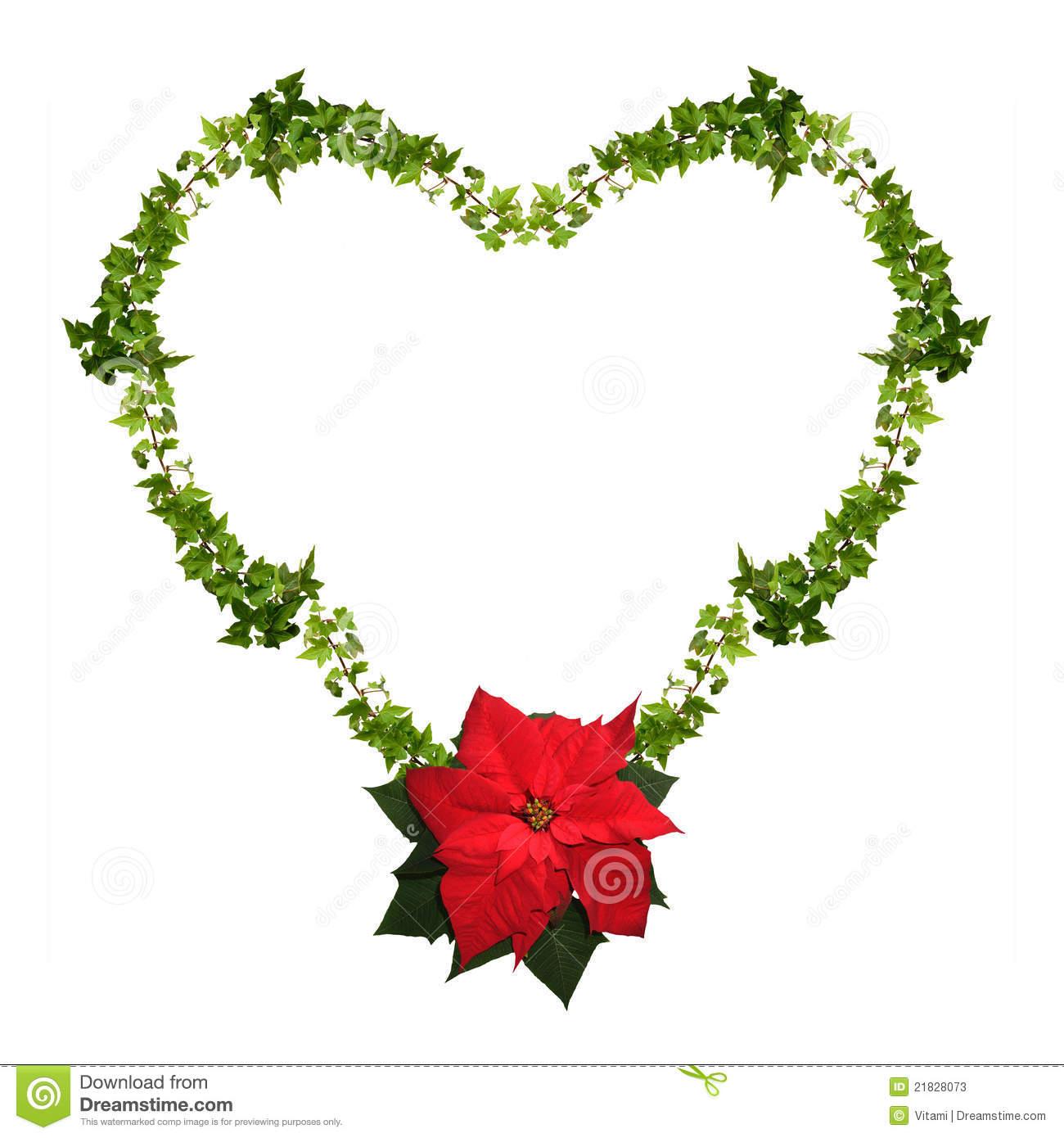Christmas Heart Clipart - Clipart Kid