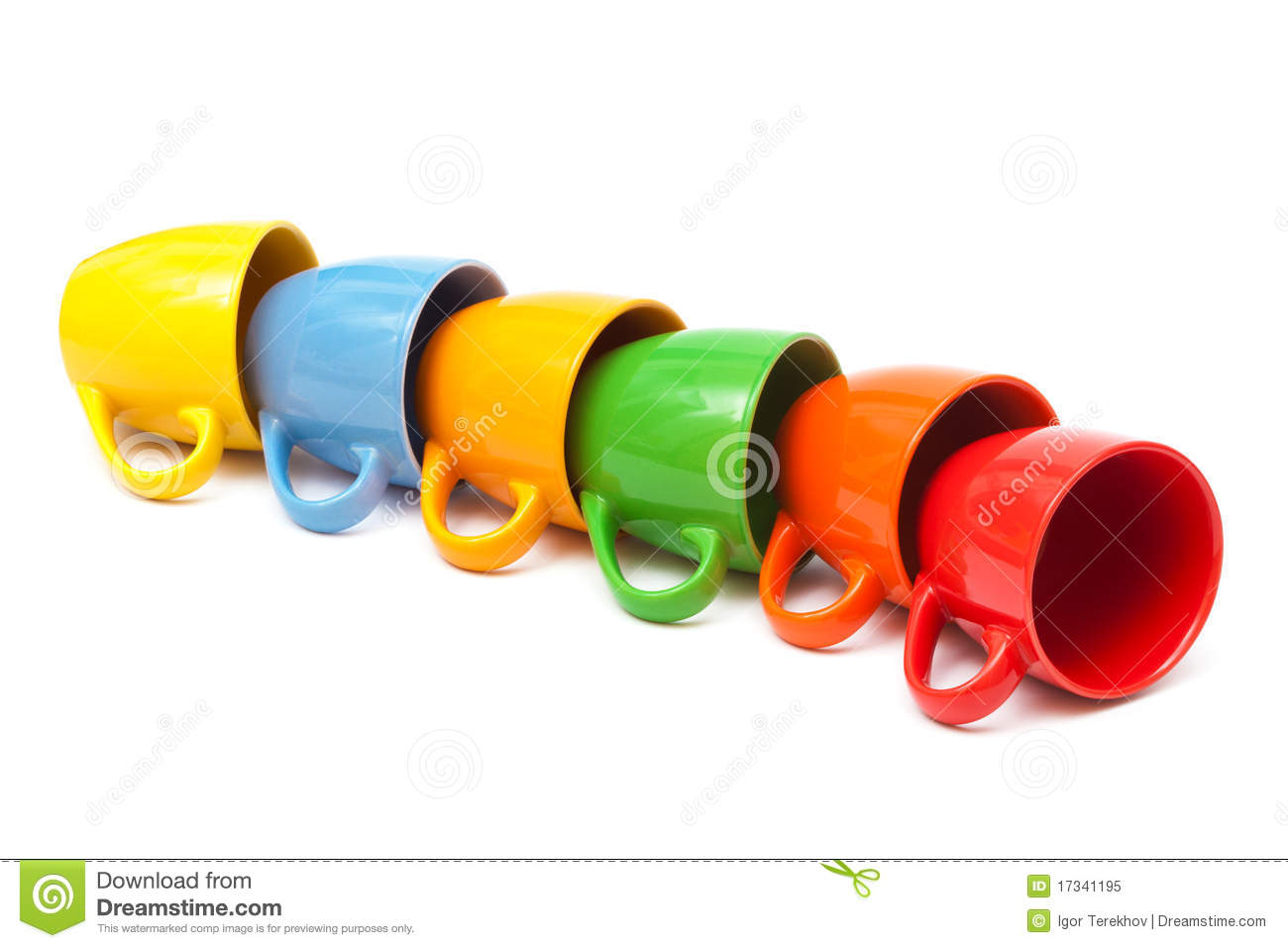 Coffee Cups Royalty Free Stock Photo   Image  17341195