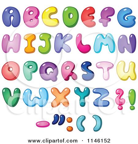 Q Bubble Letter Bubble Letter Alphabet Clipart - Clipart Kid