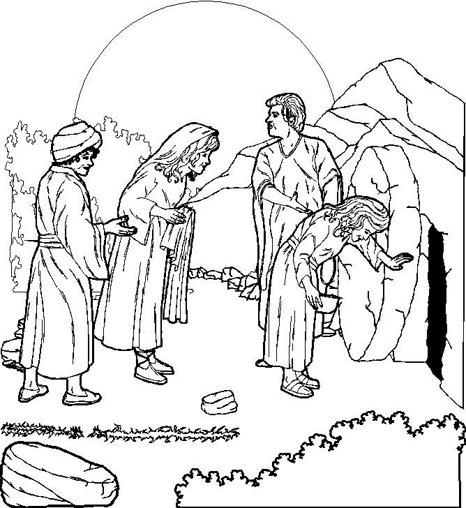 Free Christian Pictures And Jesus Christ Images Coloring Pages Clip