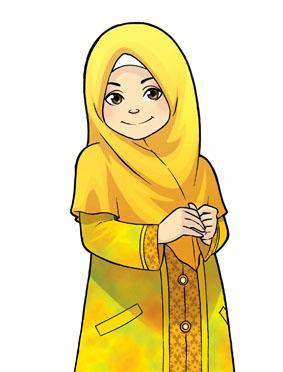 Muslim Teacher Cartoon Clipart - Clipart Kid