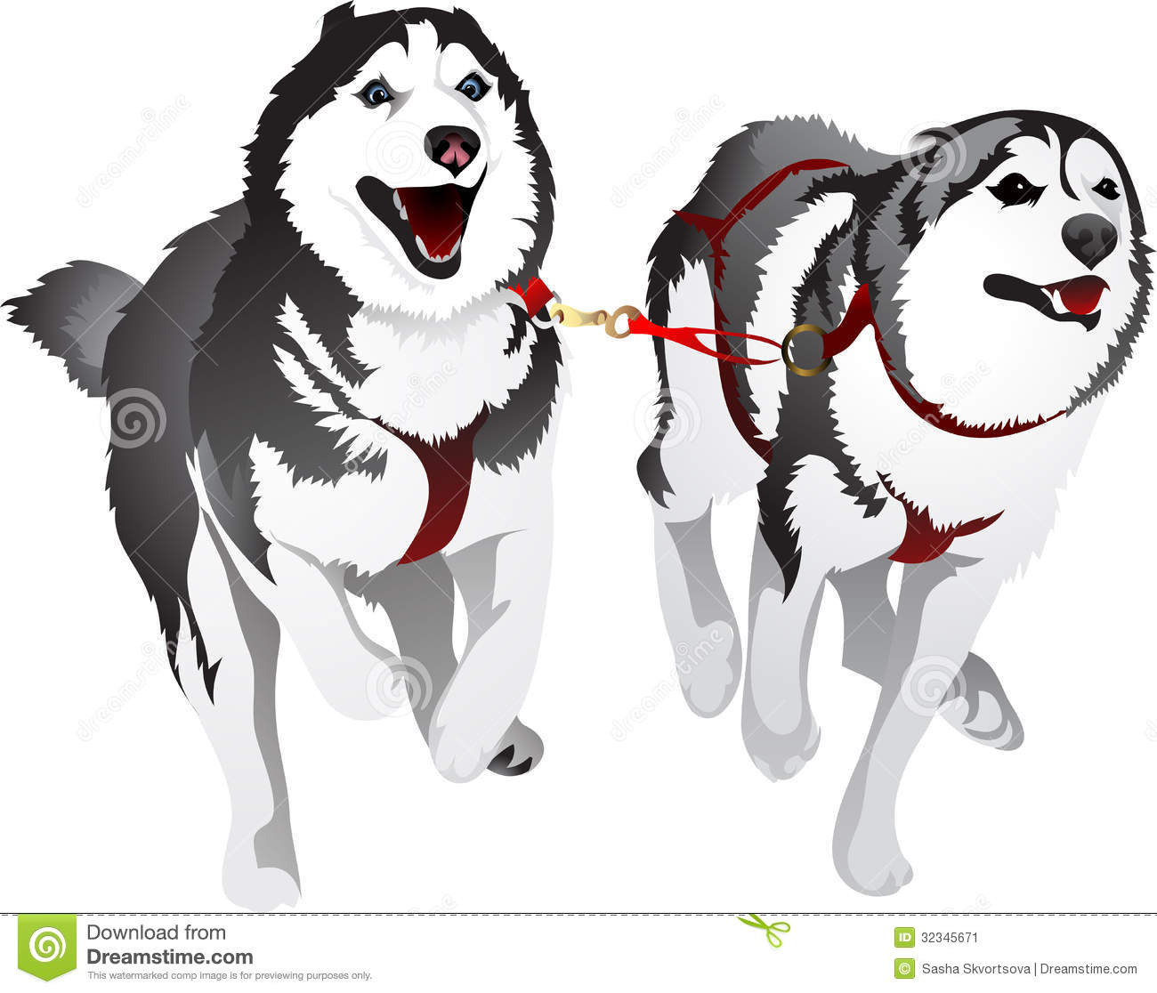 free clipart husky dog - photo #22