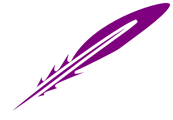 Purple Feather Clip Art At Clker Com   Vector Clip Art Online Royalty