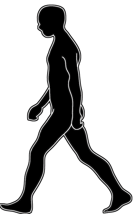 Walking Clipart Walk Clipart Black And White