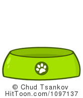 Dog Bowl Clipart  1   Royalty Free Stock Illustrations   Vector