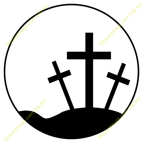 3 Crosses Clipart - Clipart Kid