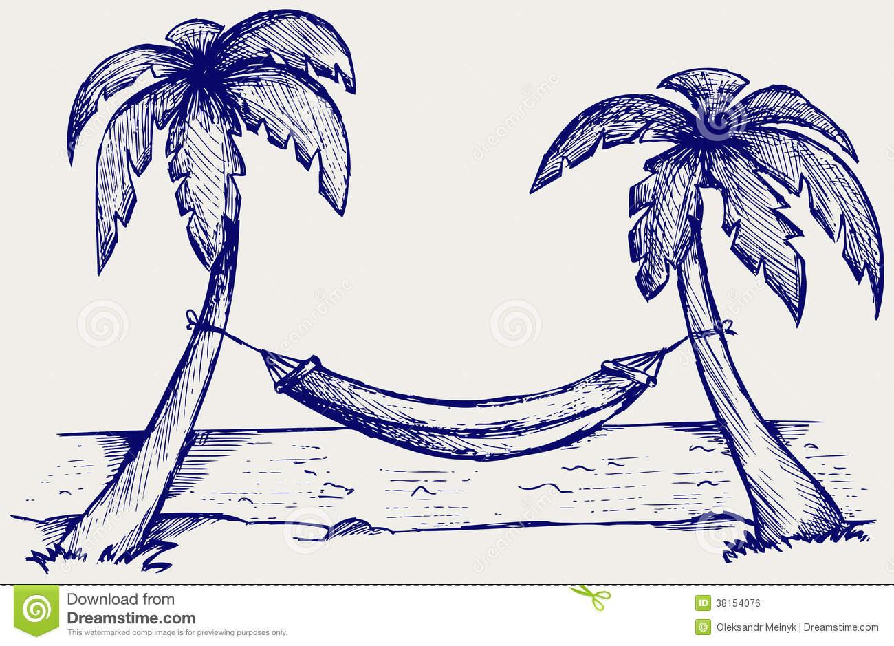 free clipart hammock cartoon - photo #45