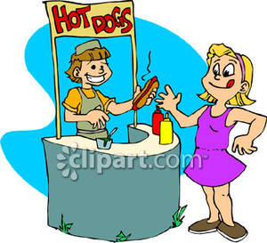 Sell Hot Dog Clip Art Cliparts