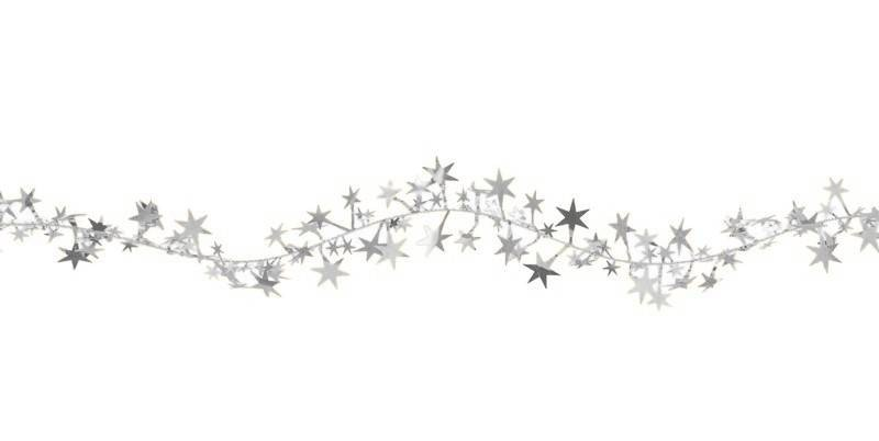 silver christmas stars clipart clipart suggest