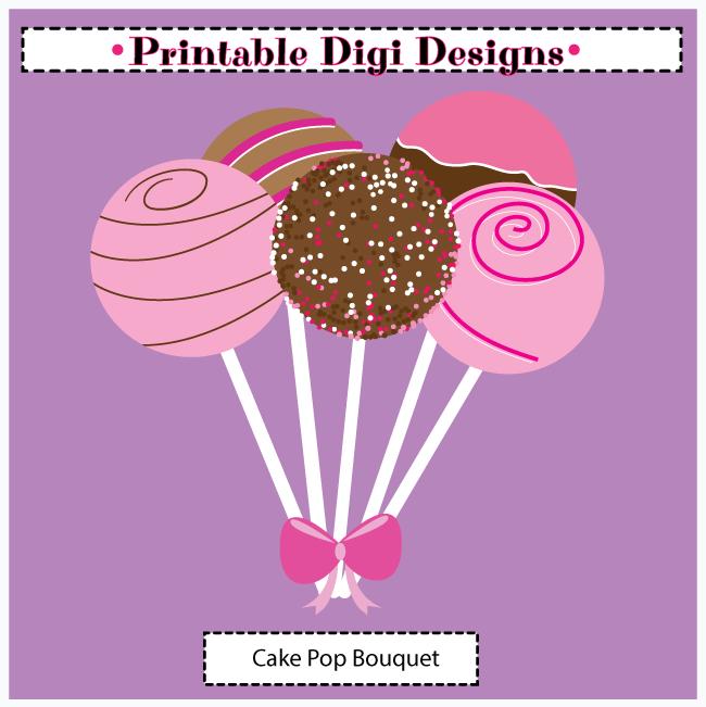 Cake Pop Clipart Free : Cake Pop Clipart - Clipart Suggest