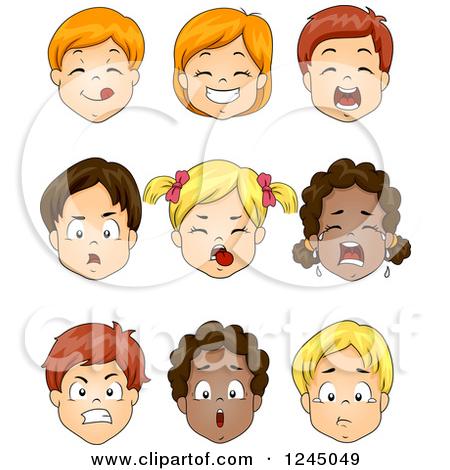 Yucky Face Clipart - Clipart Kid