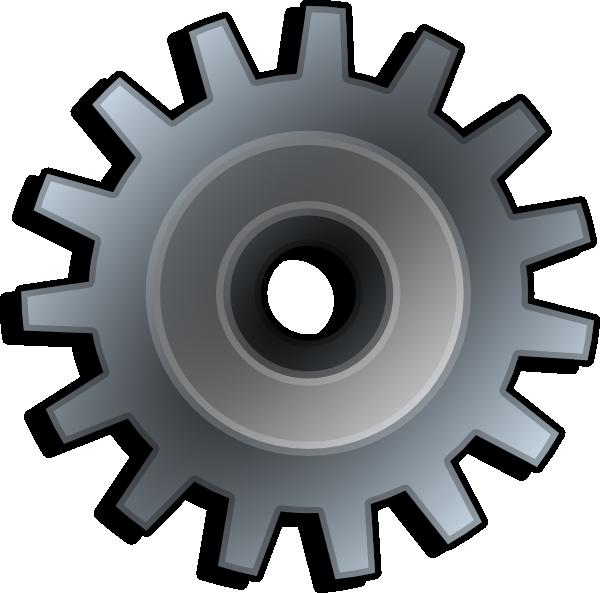 3d Gear Clipart Gear Clip Art   Vector Clip