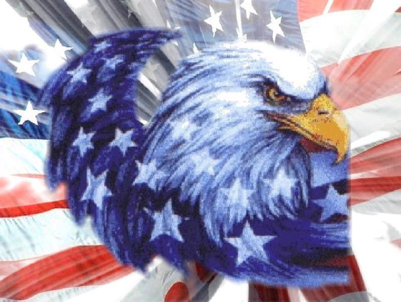 American Flag Clips With Eagle Image Search Results