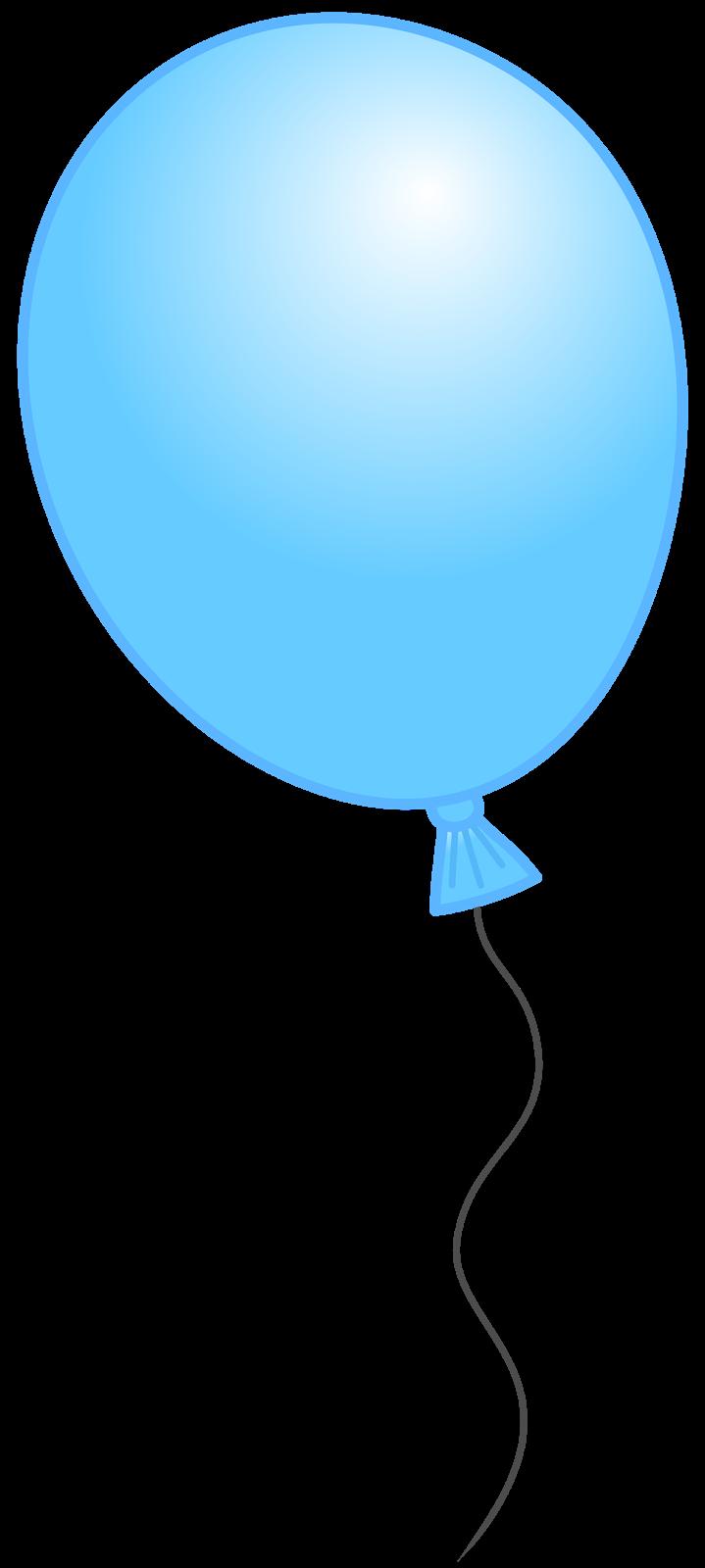 Blue Balloon Clipart - Clipart Kid
