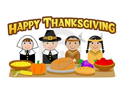 Preschool Thanksgiving Clip Art