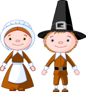 Clip Art Pilgrims Clipart pilgrims and indians clipart kid macy s thanksgiving parade turkey with all the trimmings and