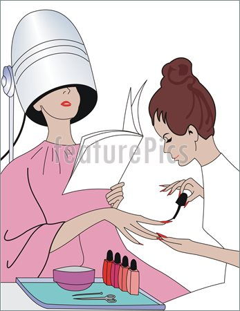 Manicure Illustration  Clip Art To Download At Featurepics Com