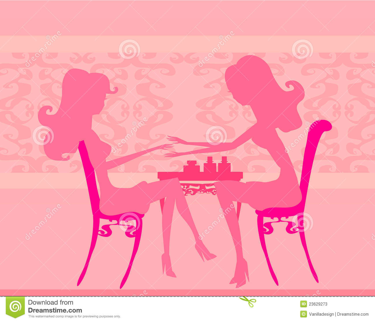 Manicure In Beauty Salon Stock Photos   Image  23629273