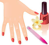 Manicure Stock Illustrations   Gograph