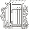 Outhouse Clipart Clip Art Pictures