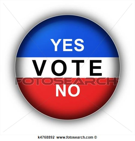Vote Yes Clipart Clip Art   Yes Vote No