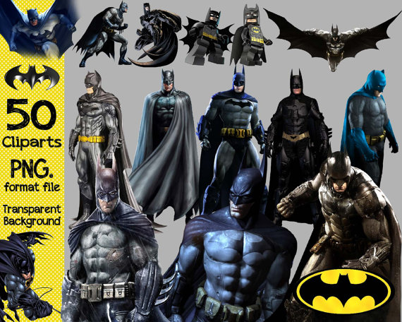 Batman 50 Clipart Transparent Background Png By Anythingincards